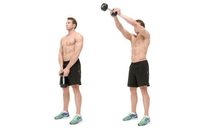 Лучшее упражнение для плеч