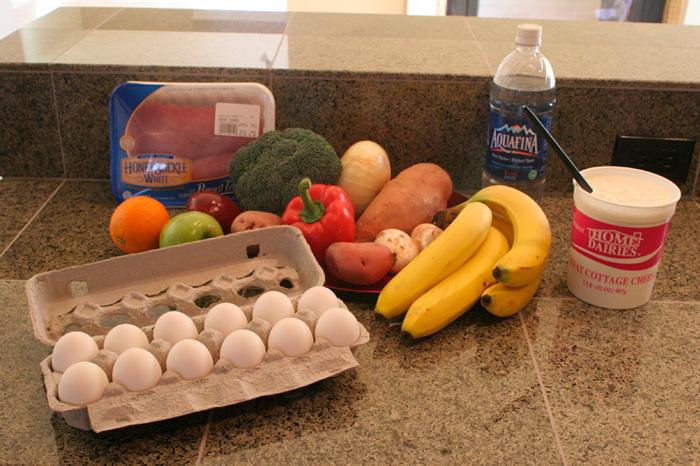 Продукты питания для роста мышц