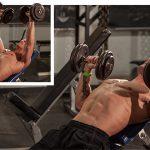 Лучшие упражнения с гантелями, для тренировки грудных мышц