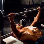 Упражнение для грудных мышц - жим штанги