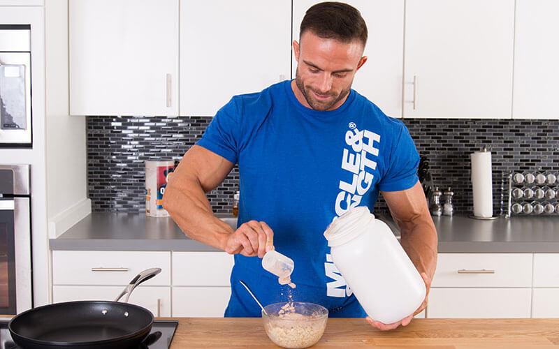 Добавление сывороточного протеина к питанию