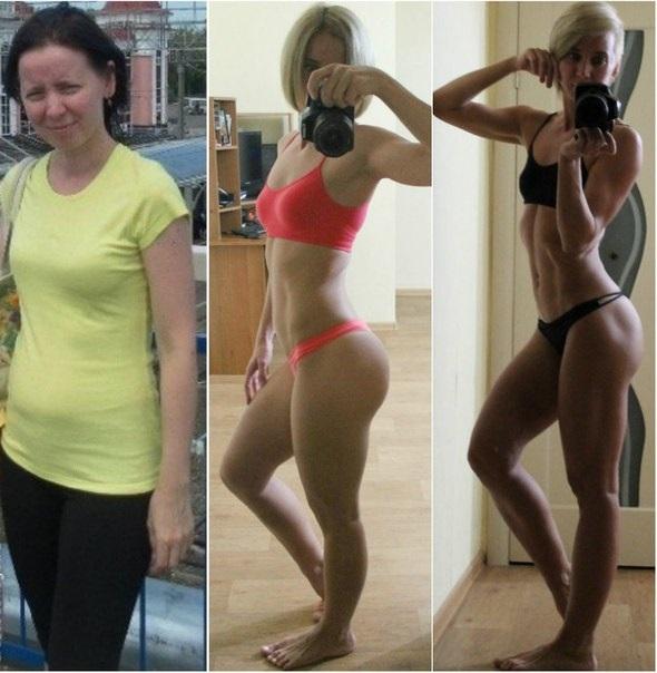 Питание до и после тренировок для девушек