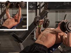 Лучшие упражнения с гантелями на грудные мышцы